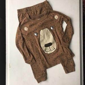 Carter's Two-Piece Bear Pajama Set - 3T